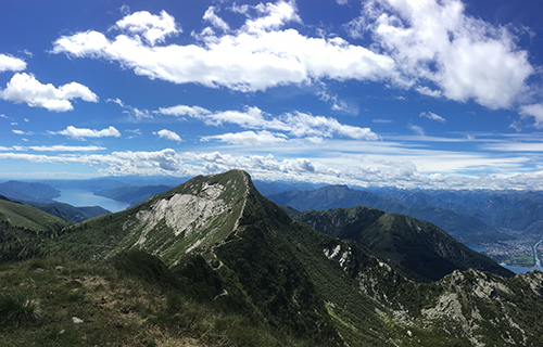 Monte Tamaro Gipfelwanderung
